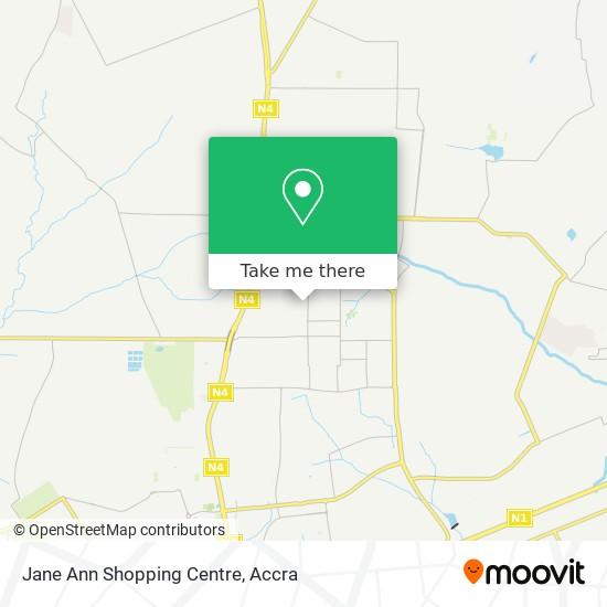 Jane Ann Shopping Centre map