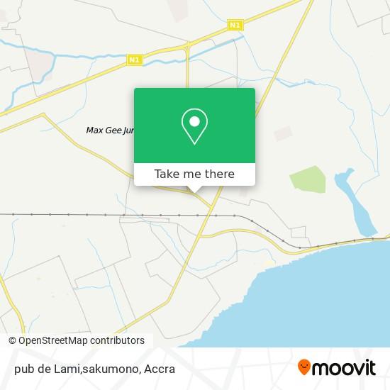 pub de Lami,sakumono map