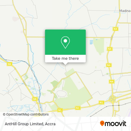 AntHill Group Limited map