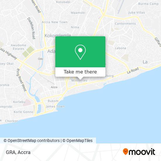 GRA map