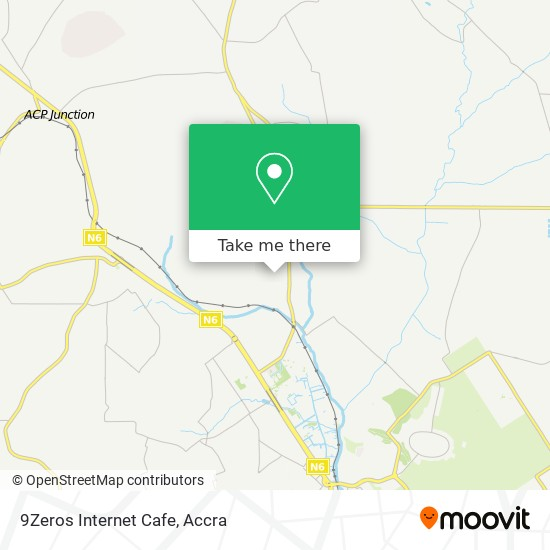 9Zeros Internet Cafe map