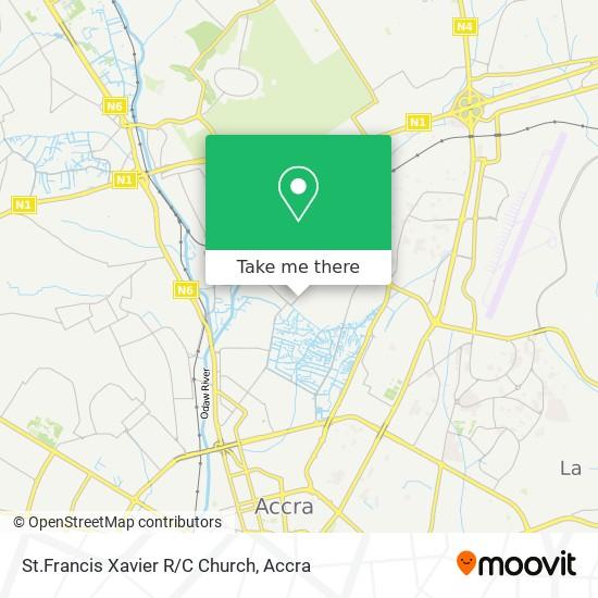 St.Francis Xavier R/C Church map