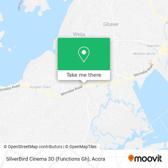 SilverBird Cinema 3D (Functions Gh) map
