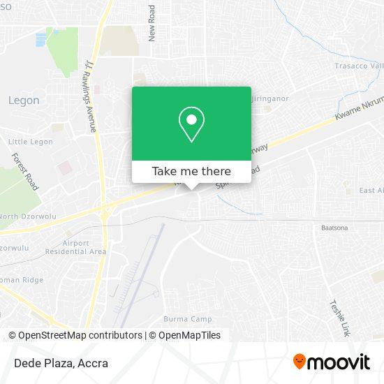 Dede Plaza map