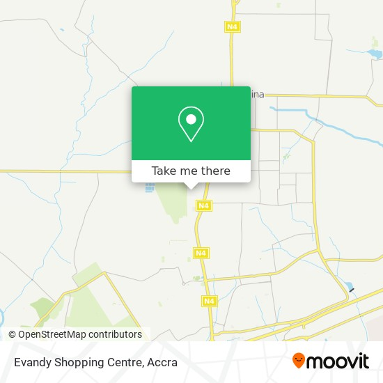 Evandy Shopping Centre map