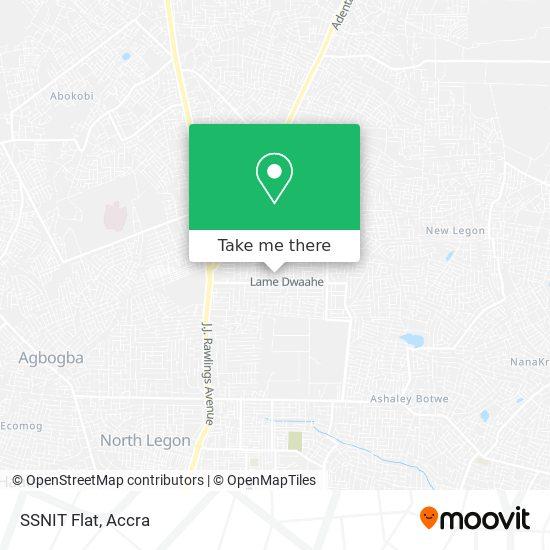 SSNIT Flat map