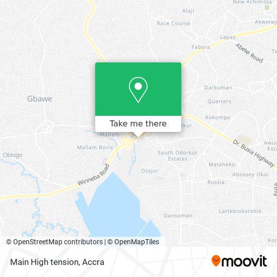 Main High tension map