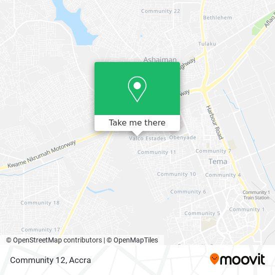 Community 12 map