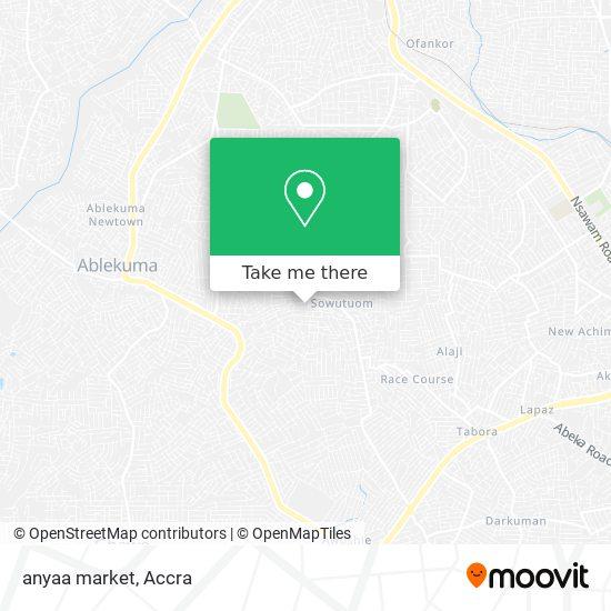 anyaa market map