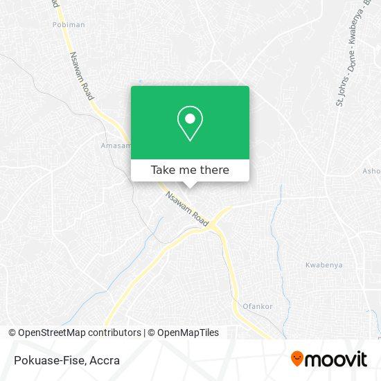 Pokuase-Fise map