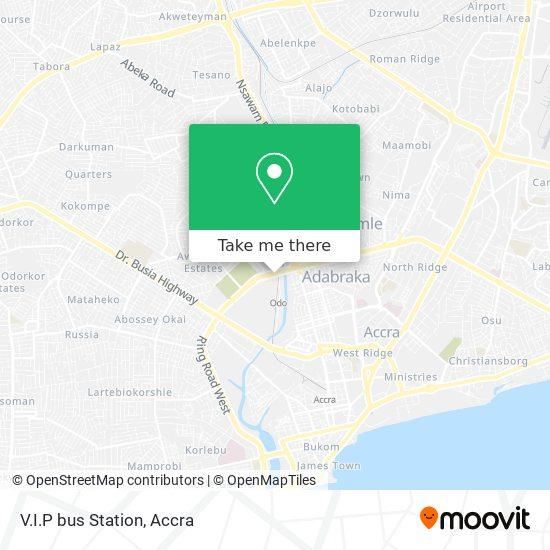 V.I.P bus Station map