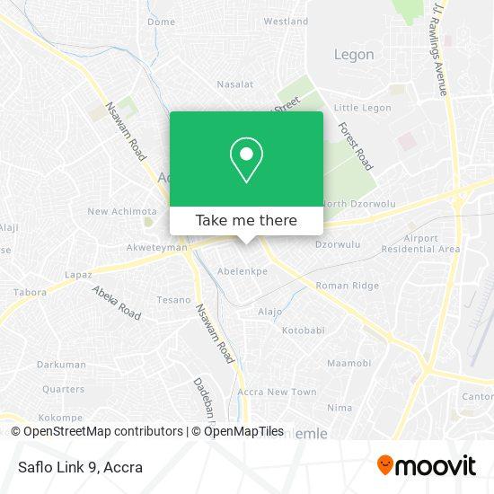 Saflo Link 9 map