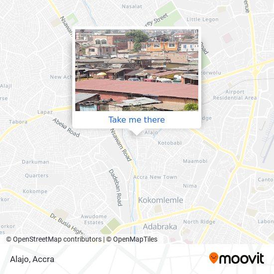 Alajo map