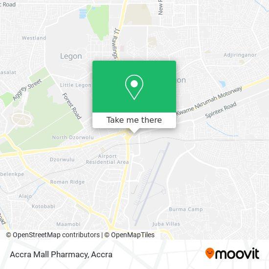 Accra Mall Pharmacy map