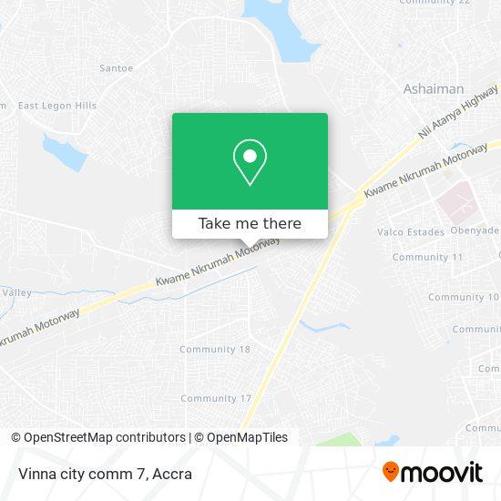 Vinna city comm 7 map