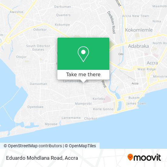Eduardo Mohdlana Road map