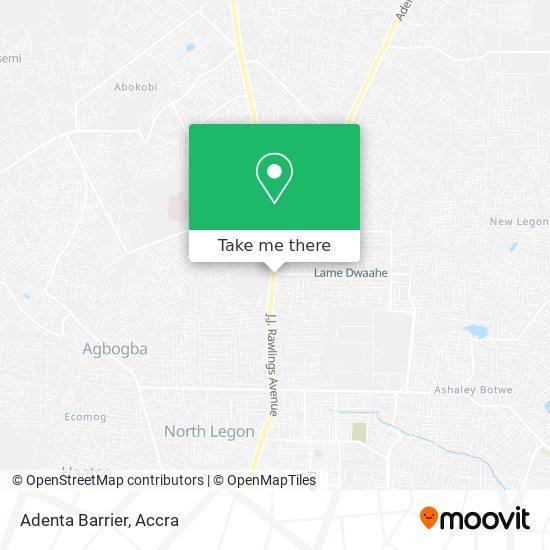Adenta Barrier map