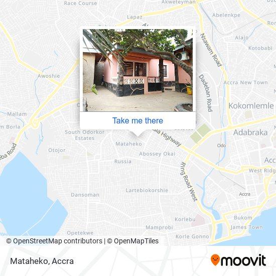Mataheko map