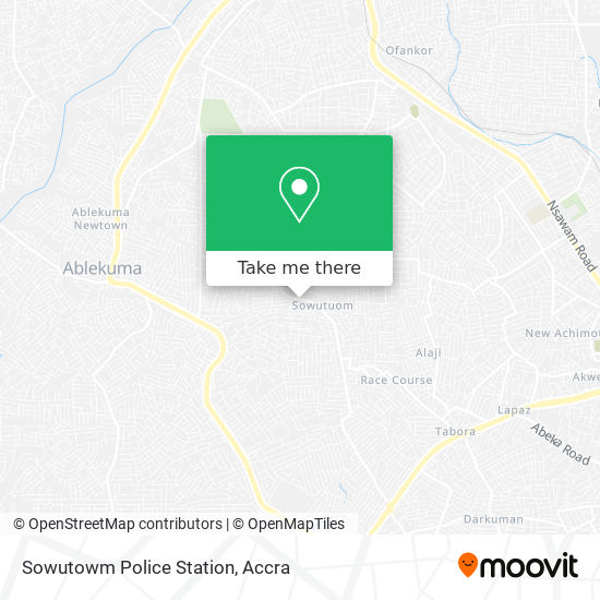 Sowutowm Police Station map
