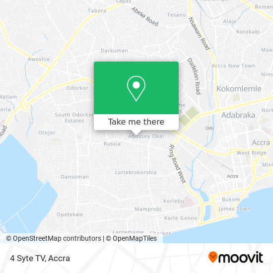 4 Syte TV map