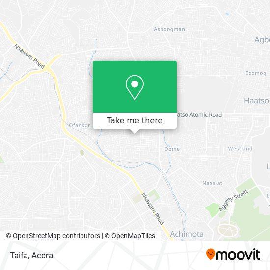 Taifa map