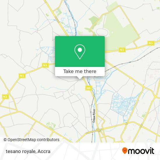 tesano royale map