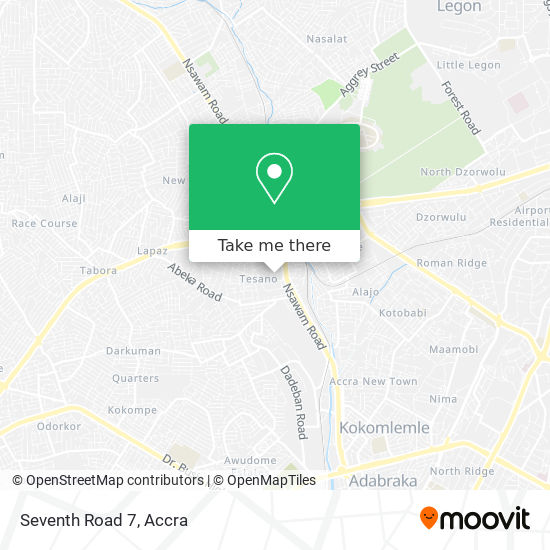 Seventh Road 7 map