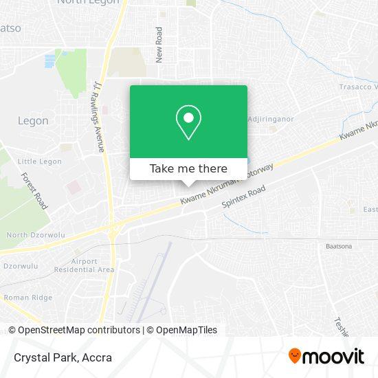 Crystal Park map