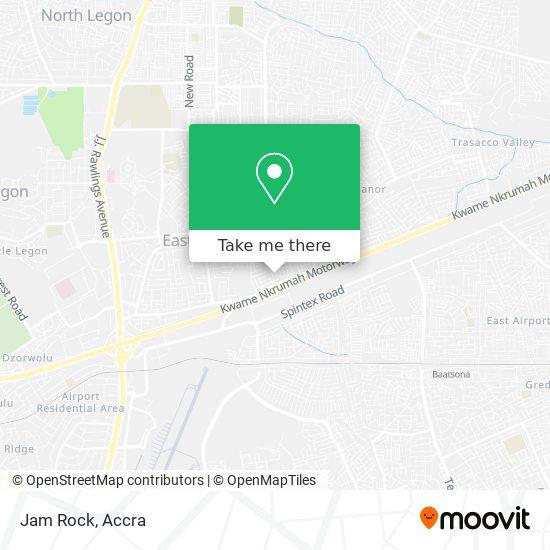 Jam Rock map