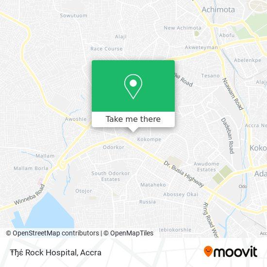 Ŧђέ Rock Hospital map