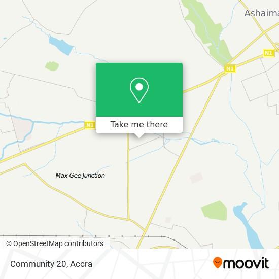Community 20 map