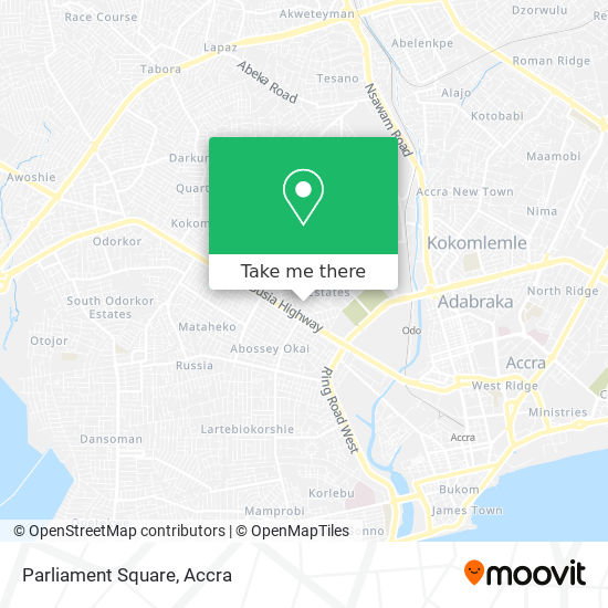 Parliament Square map