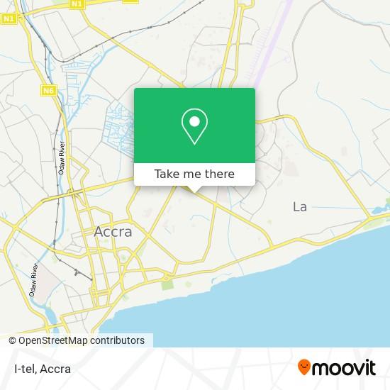 I-tel map
