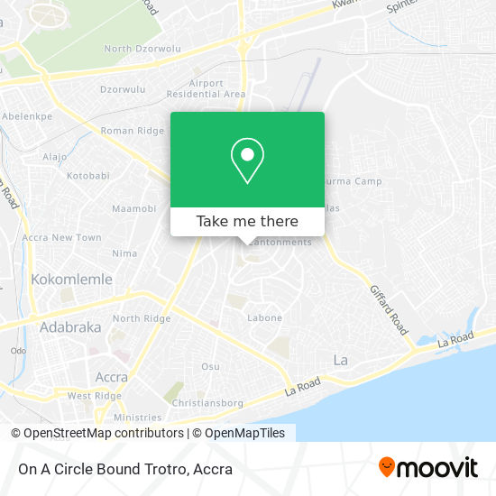 On A Circle Bound Trotro map