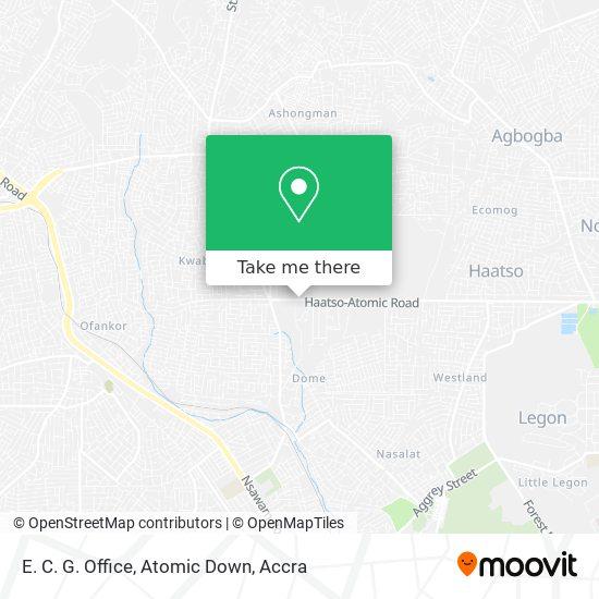 E. C. G. Office, Atomic Down map
