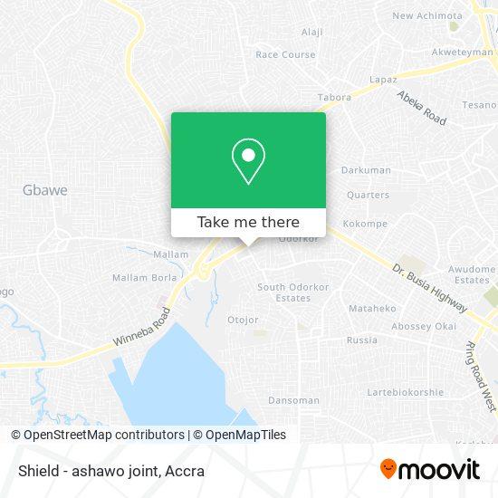 Shield - ashawo joint map