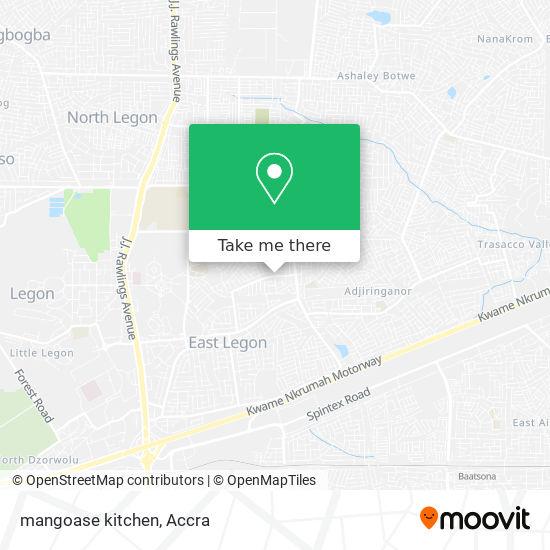 mangoase kitchen map