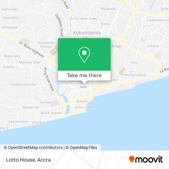 Lotto House map
