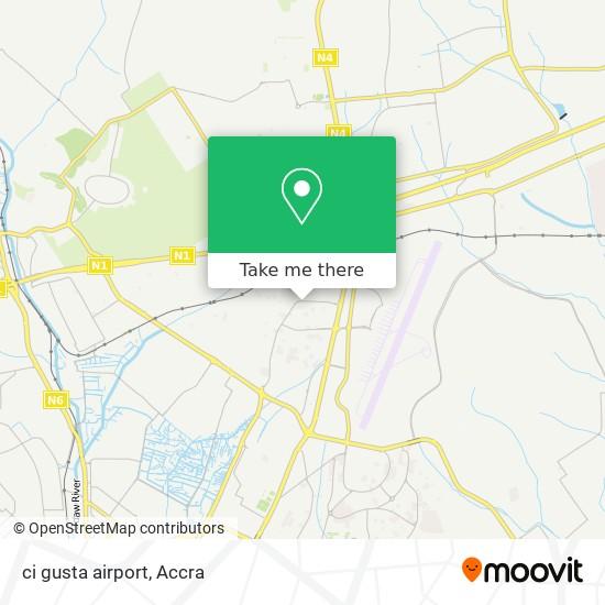 ci gusta airport map