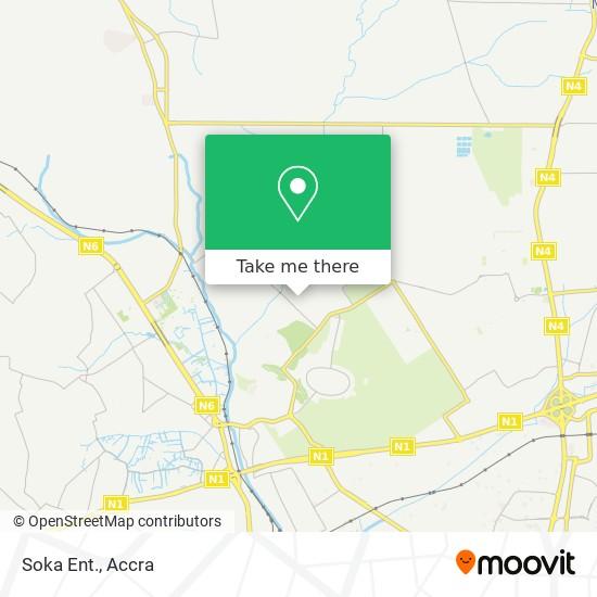 Soka Ent. map