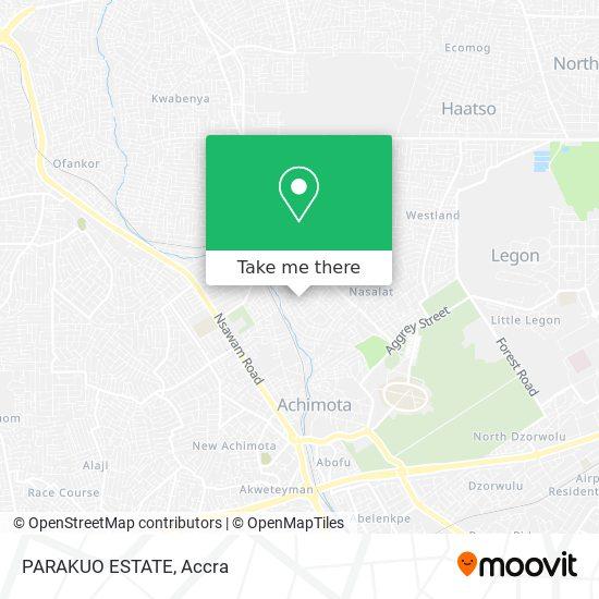 PARAKUO ESTATE map