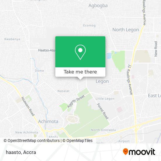 haasto map
