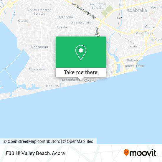 F33 Hi Valley Beach map