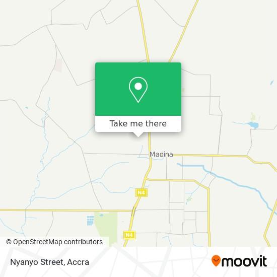 Nyanyo Street map