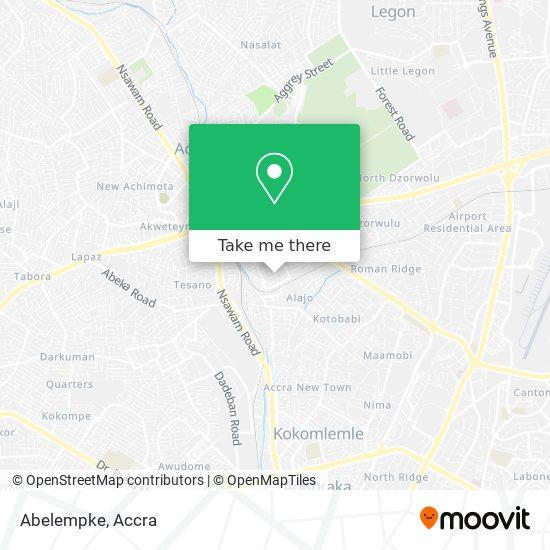 Abelempke map