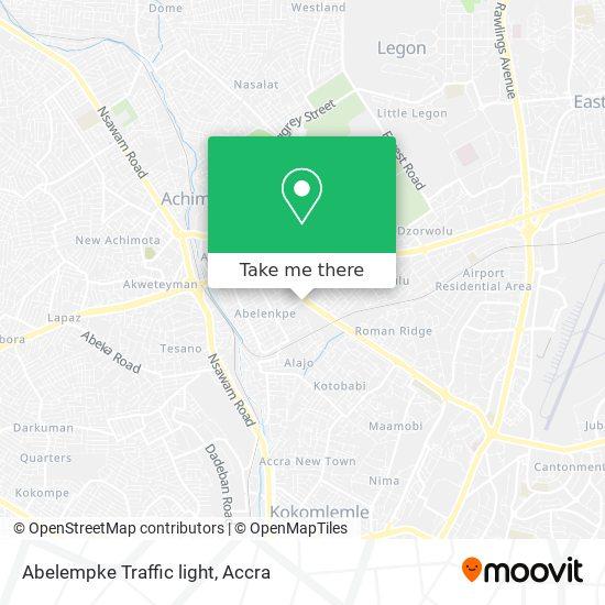 Abelempke Traffic light map