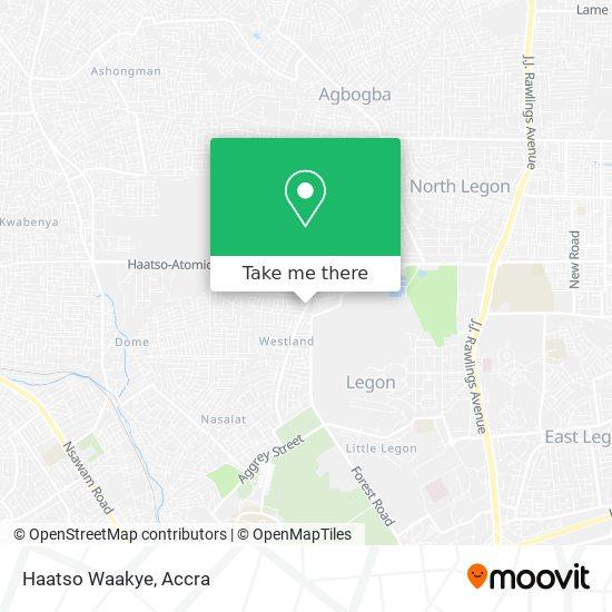 Haatso Waakye map