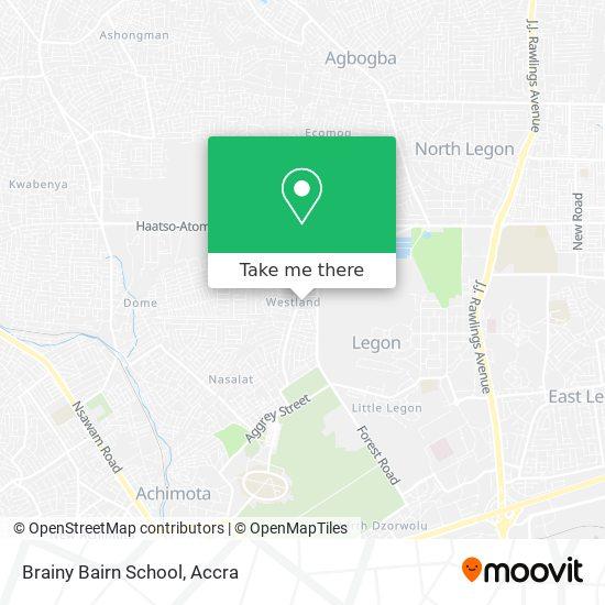 Brainy Bairn School map