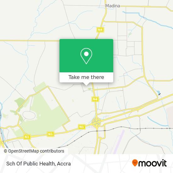 Sch Of Public Health map