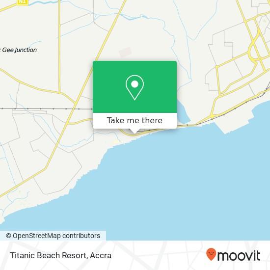 Titanic Beach Resort map
